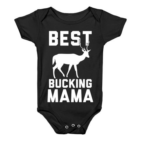 Best Bucking Mama Baby Onesy