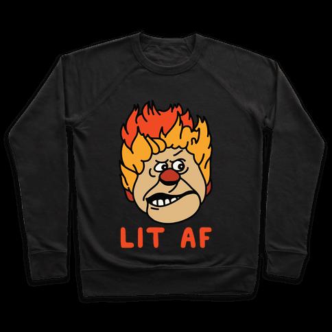 Lit AF Heat Miser Pullover