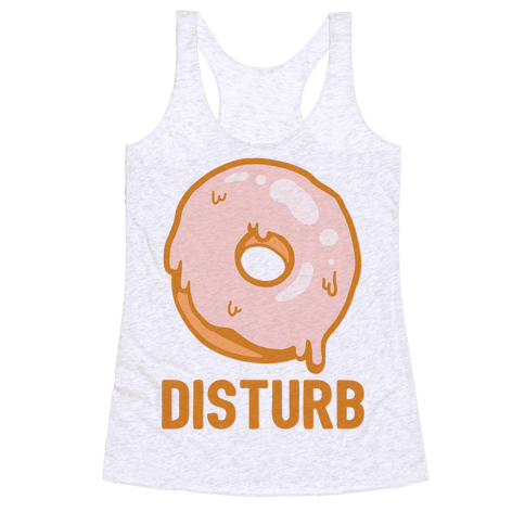 Donut Disturb Racerback Tank Top