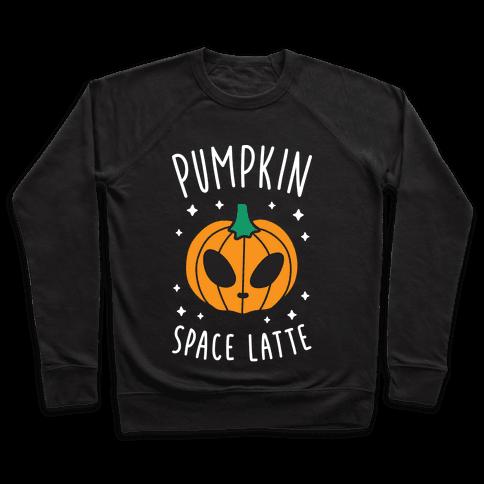 Pumpkin Space Latte (White) Pullover