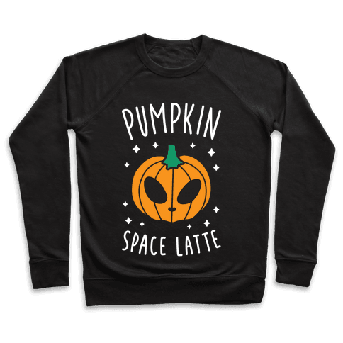 Pumpkin Space Latte (White) Pullover