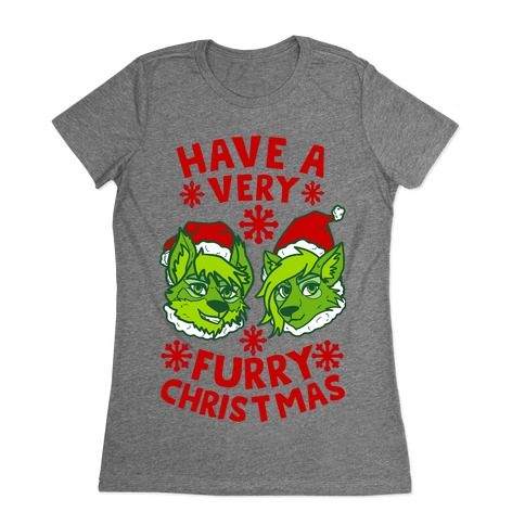 Have A Very Furry Christmas Womens T-Shirt