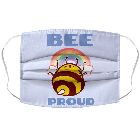 Bee Proud Face Mask Cover