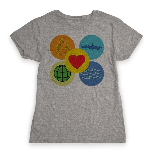 With our powers combined... Womens T-Shirt