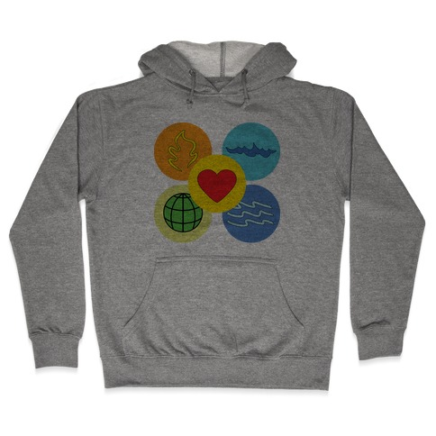 With our powers combined... Hooded Sweatshirt