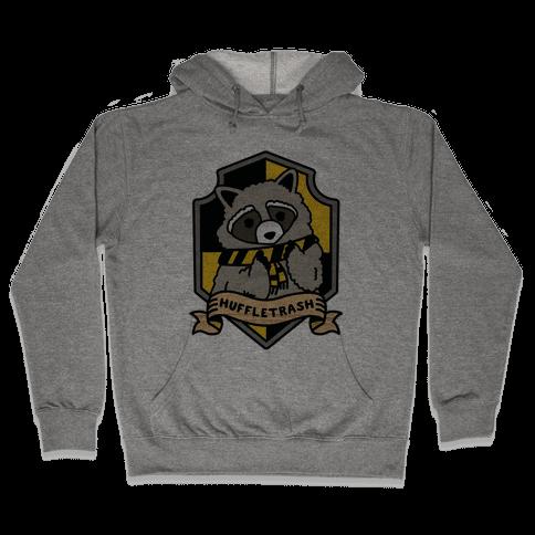 Huffletrash Hooded Sweatshirt