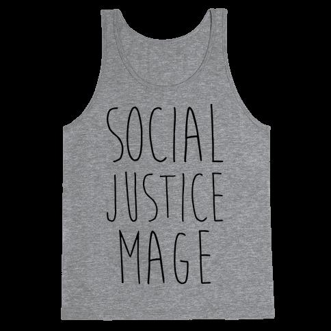 Social Justice Mage Tank Top