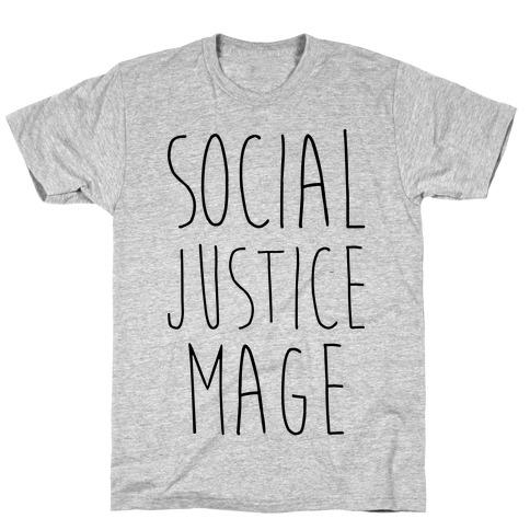 Social Justice Mage Mens/Unisex T-Shirt