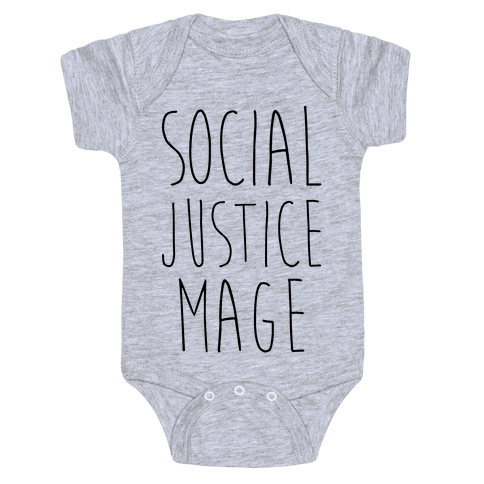 Social Justice Mage Baby Onesy