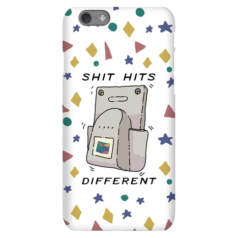 Shit Hits Different (Rumble Pack) Phone Case
