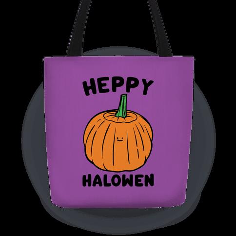 Heppy Halowen Parody Tote
