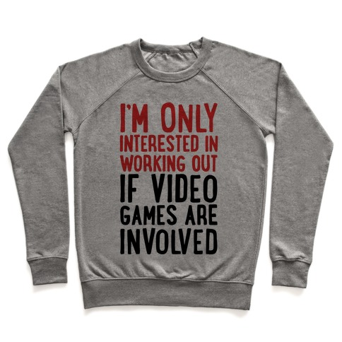 Video Game Workout Pullover