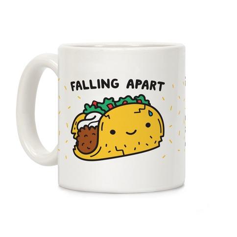 Falling Apart Taco Coffee Mug
