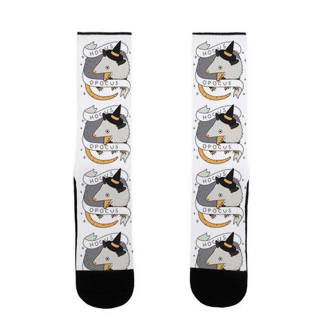Hocus Opocus Opossum Sock