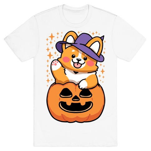 Cute Halloween Corgi T-Shirt