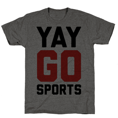 YAY GO SPORTS Mens T-Shirt