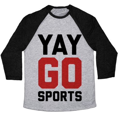 YAY GO SPORTS Baseball Tee