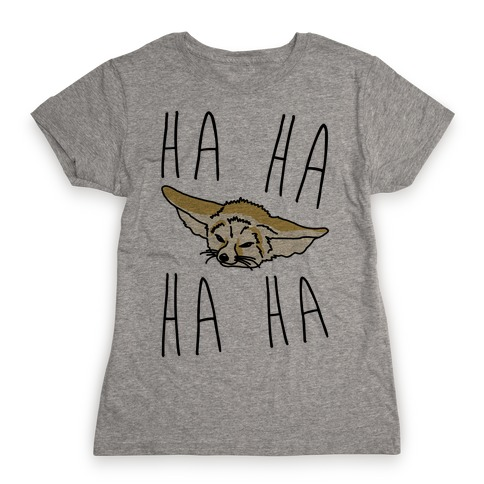 Fenneko's Laugh Parody Womens T-Shirt