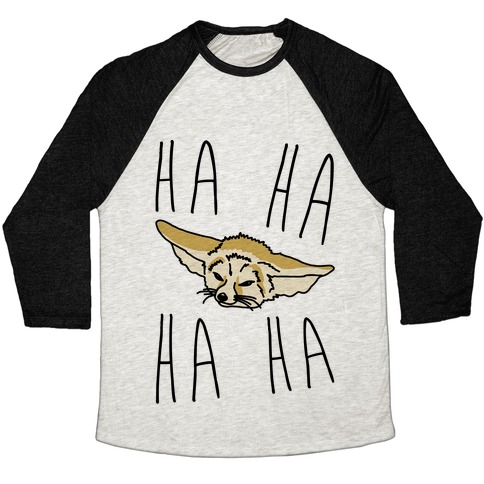 Fenneko's Laugh Parody Baseball Tee