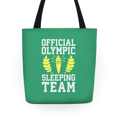 Official Olympic Sleeping Team Tote