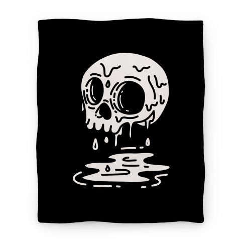 Melting Skull Blanket