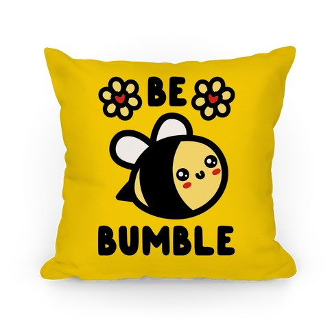 Be Bumble Pillow