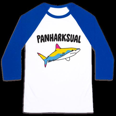 Pansharksual Baseball Tee
