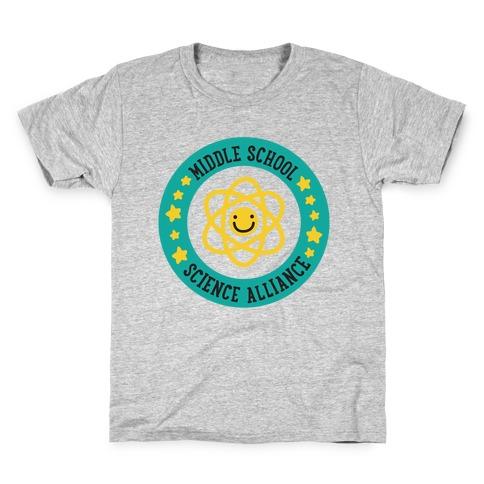 Middle School Science Alliance Kids T-Shirt