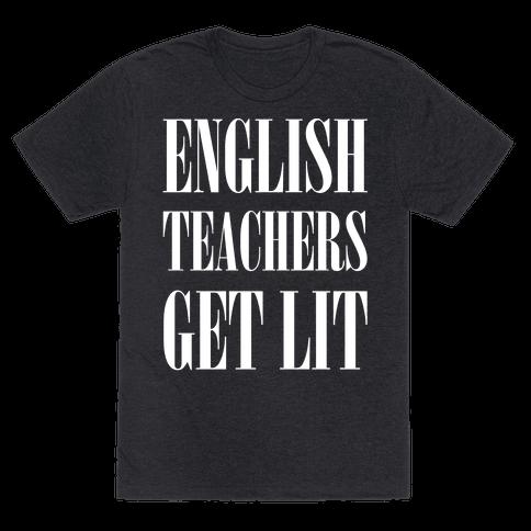 English Teachers Get Lit