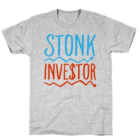 Stonk Investor Parody T-Shirt