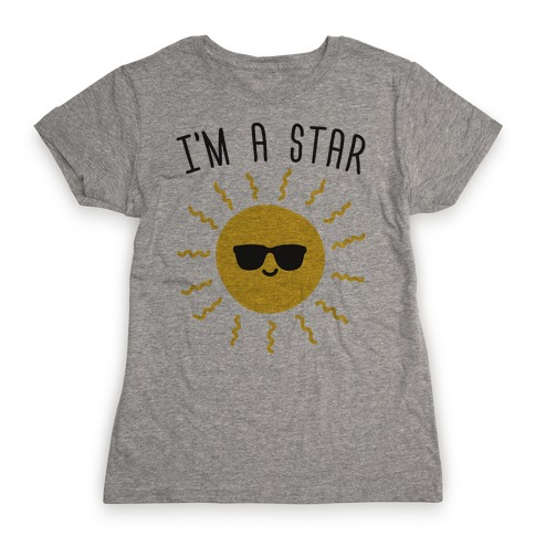 I'm A Star (Sun) Womens T-Shirt