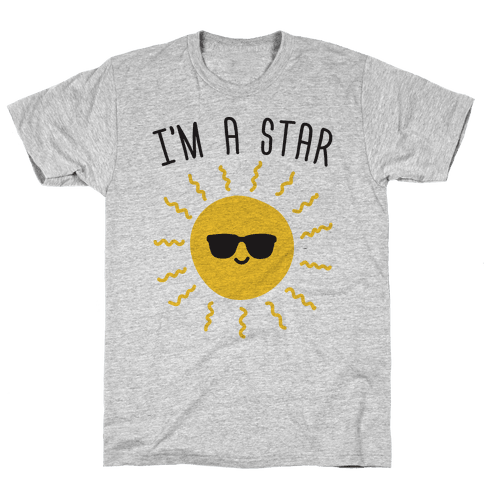I'm A Star (Sun) Mens T-Shirt