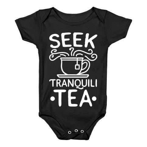 Seek Tranquili-tea Baby Onesy