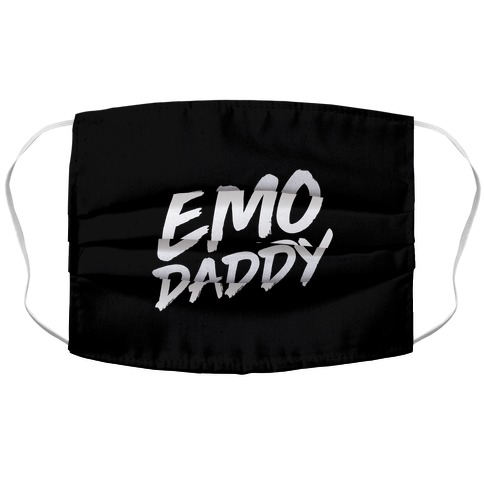 Emo Daddy Accordion Face Mask