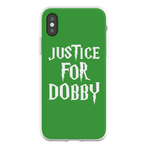 Justice For Dobby Parody Phone Flexi-Case