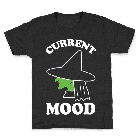 Current Mood Witch Kids T-Shirt