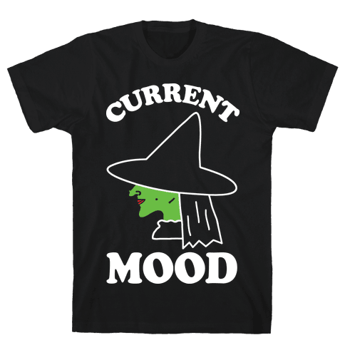 Current Mood Witch Mens T-Shirt