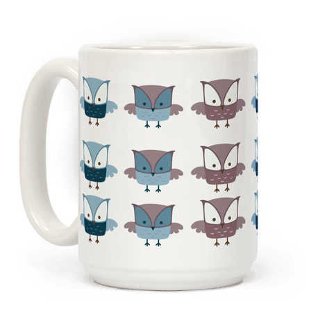Cute Owls Coffee Mug