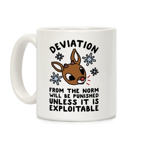 Deviation Rudolf Coffee Mug