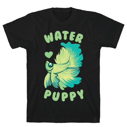 Water Puppy! Mens T-Shirt