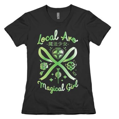 Local Aro Magical Girl Womens T-Shirt