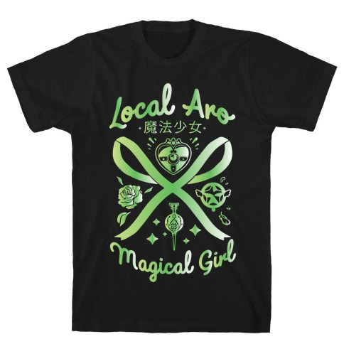 Local Aro Magical Girl T-Shirt