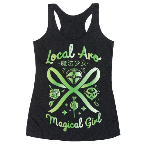 Local Aro Magical Girl Racerback Tank Top