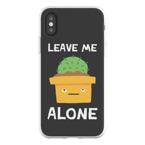 Leave Me Alone Cactus Phone Flexi-Case