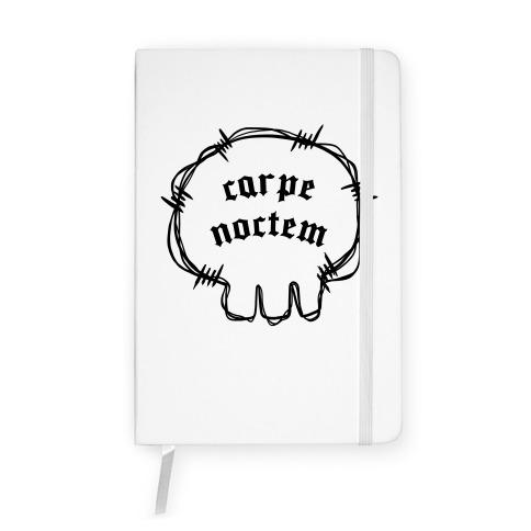 Carpe Noctem (white)  Notebook