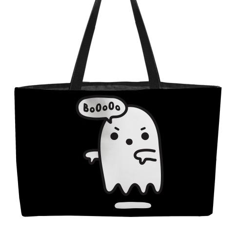 Disapproving Ghost Weekender Tote