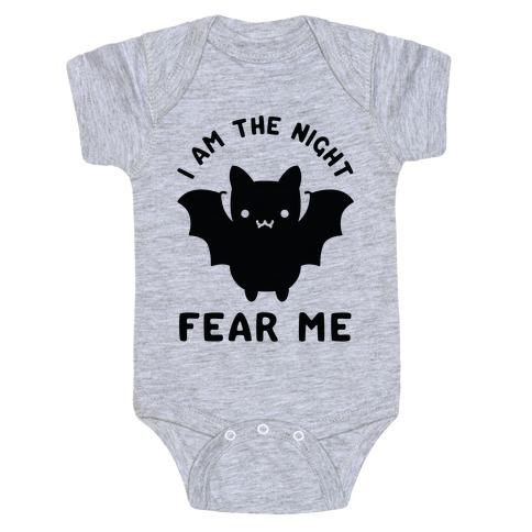 I Am The Night Fear Me Baby Onesy