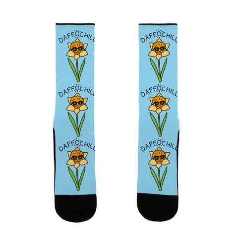 Daffochill Daffodil Sock