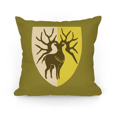 Golden Deer Crest - Fire Emblem Pillow