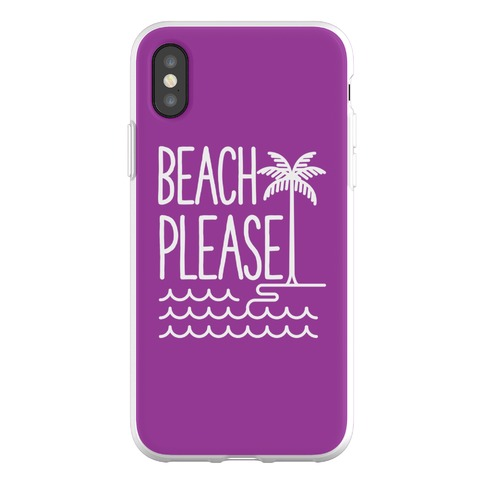 Beach Please Phone Flexi-Case